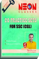 20 Practice Sets for SSC-CGL