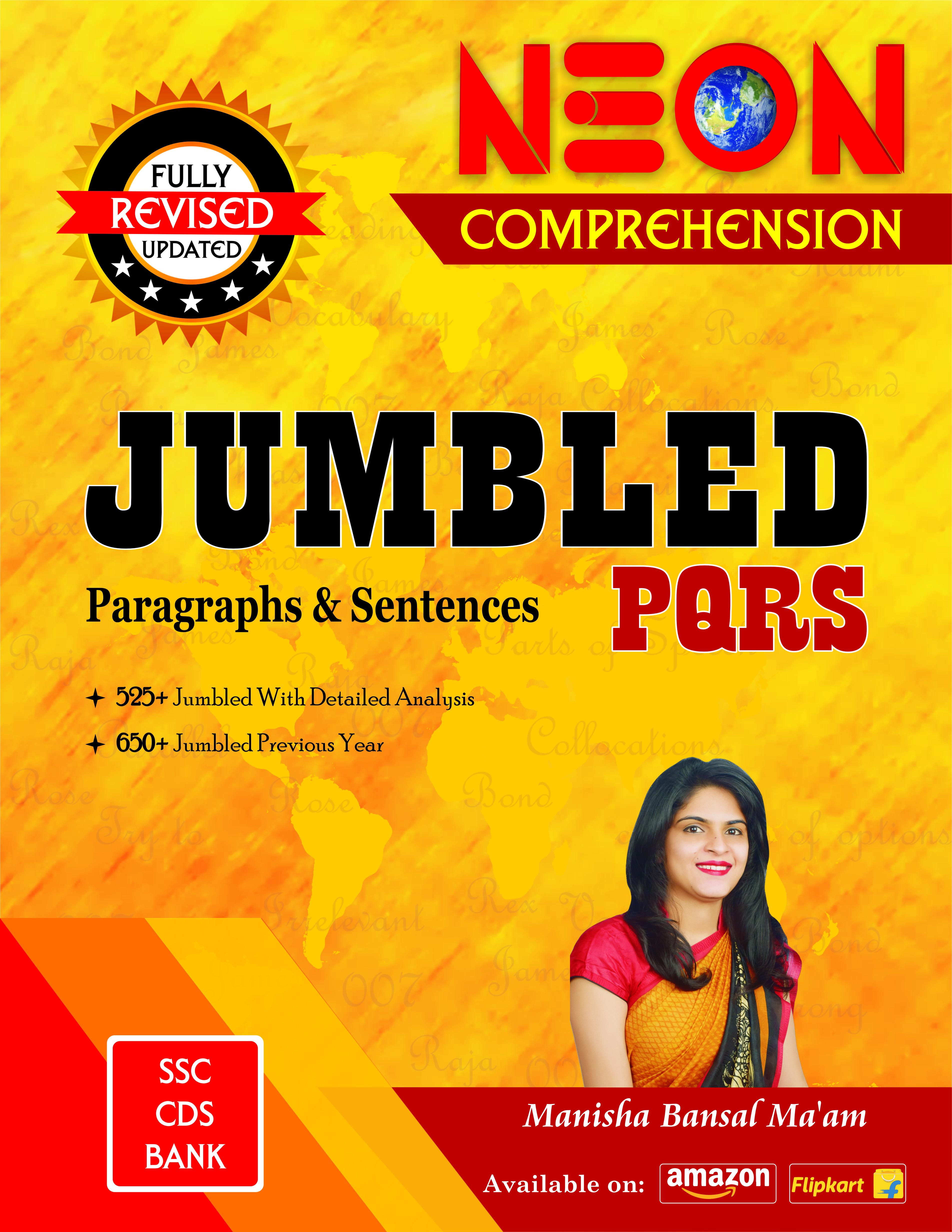 JUMBLED PQRS (Paragraphs & Sentences)